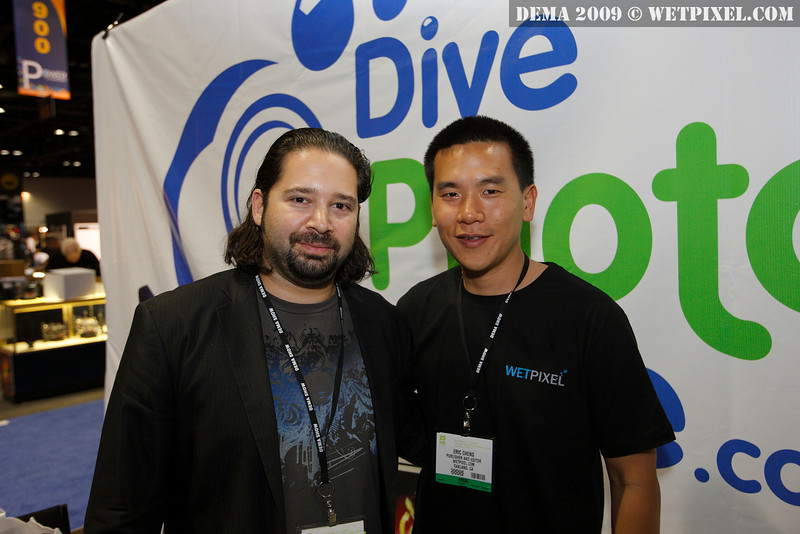 Jason Heller of DivePhotoGuide and Eric Cheng of Wetpixel