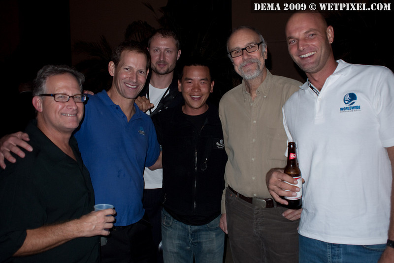 David Haas, Richard Woulfe, Lars Kirkegaard, Eric Cheng, John Bantin and Frank Van Der Linde