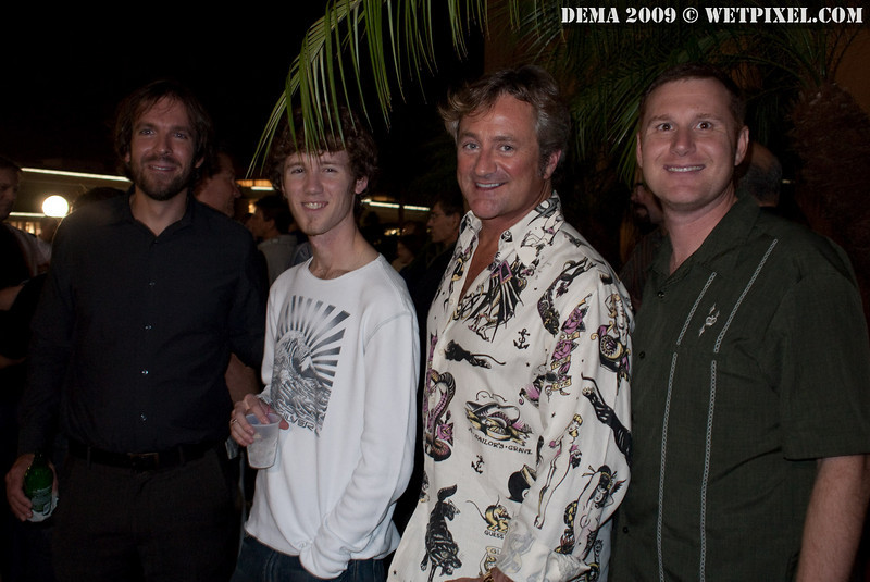 Sterling Zumbrunn, Matt Segal, Douglas Seifert and Dan Baldocchi