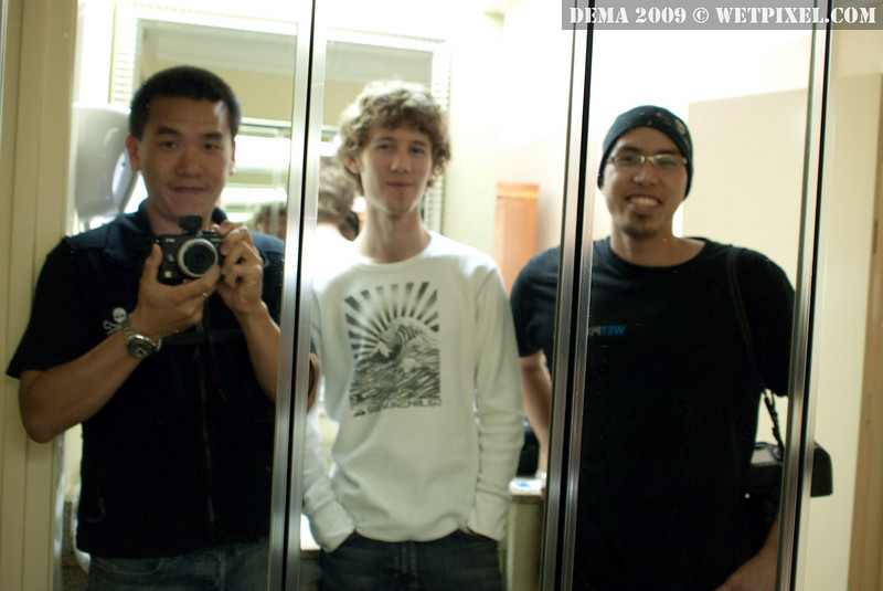 Wetpixel's Eric Cheng, Matt Segal and Adam Lau