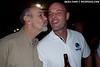 John Bantin and Frank Van Der Linde share a special moment