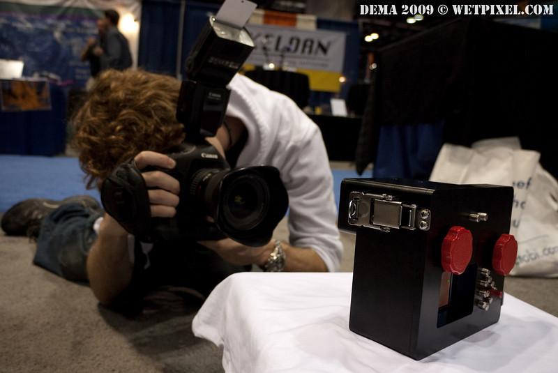 Matt Segal photographs the PiratePro prototype
