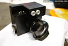 PiratePro prototype Olympus E-P1 underwater housing -- Nikonos lens compatible