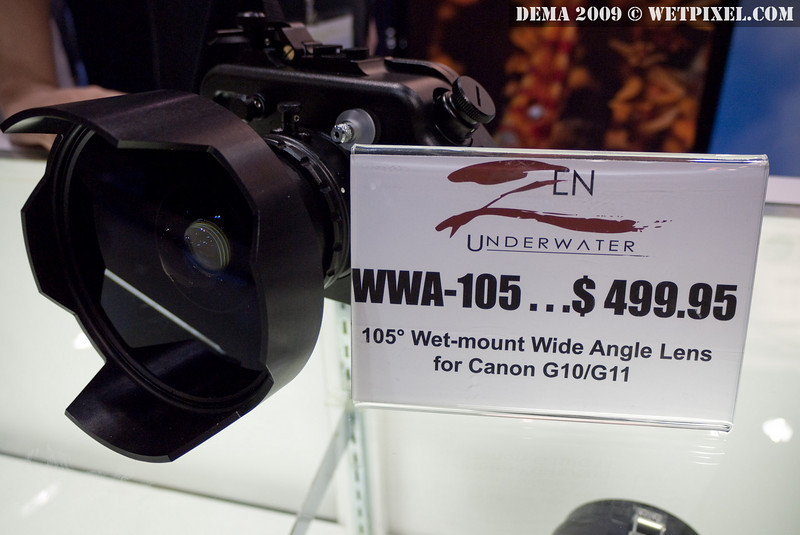 ZEN wide angle adapter for G10/G11 (does not vignette)