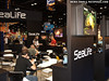 Lots of business happening in the Sealife booth