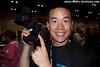 Eric Cheng holds the Canon 1D Mark IV dSLR