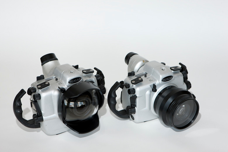 Seacam 5D Mark II and 1Ds Mark III housings