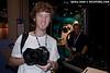 Matt Segal fondles a Canon 1D Mk IV at the Seacam booth