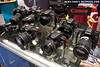 Canon cameras at the Canon / Seacam booth