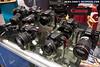 Canon cameras at the Canon / Seacam booth
