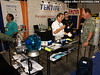 At the Tektite booth, the new product was a dive light with integrated shaker/rattle, manufactured by Tektite for Moray.