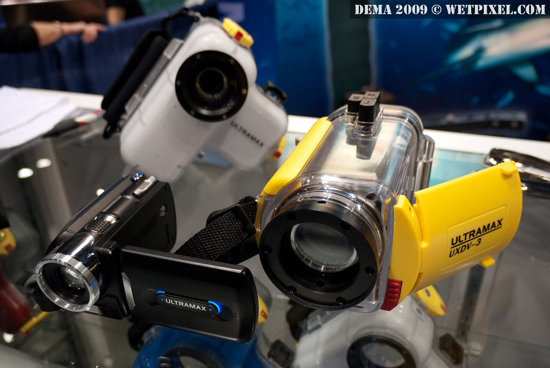 Ultramax UXDV-3 underwater video camera