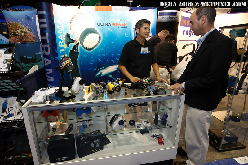 UltraMax booth