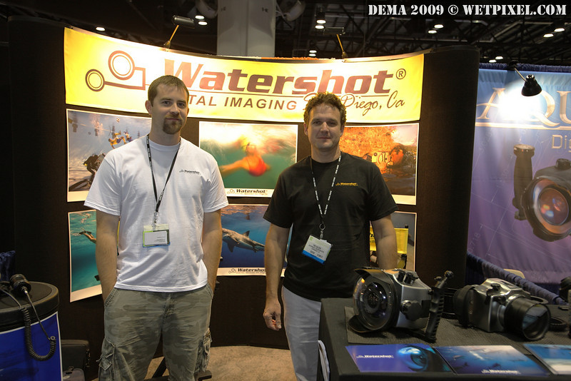 Jonathan Lorenzen and Tim Calver of Watershot