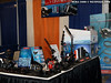 The i-Divesite booth, chock full of accessorizing goodness.