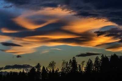 Lenticularis Wolken