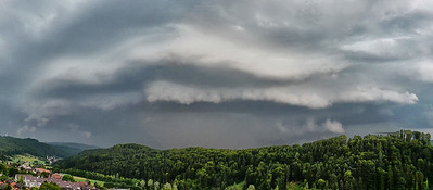 Gewitter | Thunderstorm, Stallikon, 10.6.2008