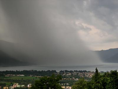 Regenschauer | rain shower, 28.6.2006