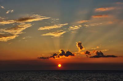 Sonnenuntergang Mittelmeer | Sunset Mediterranean Sea
