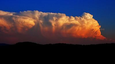 Gewitter über den Bergen | Montainous thunderstorm, 23.6.2008