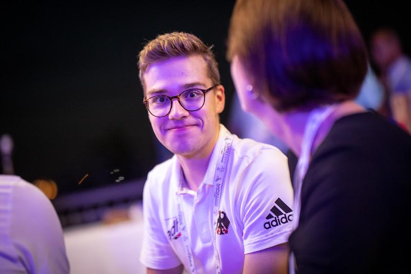 Die Deutsche Botschaft empfing am Abend des 2. Juli das deutsche Team der Universiade 2019.