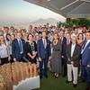 Deutsche Delegation beim Botschaftsempfang