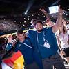 AM 14. Juli 2019 wurde die 30. Universiade in Neapel mit einer stimmungsvollen Abschlussfeier im Stadion San Paolo beendet. © Arndt Falter