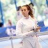 Das Team der Degen-Fechterinnen schied im Viertelfinale gegen Russland aus und belegten somit den 7. Rang bei der Universiade 2019 in Neapel. 7. Juli 2019, © Arndt Falter