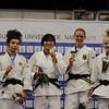Judo Podium Damen 70kg