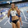 Mittelstrecklerin Christina Hering hat bei der Universiade 2019 in Neapel als Siegerin des Halbfinals das 800-Meter-Finale erreicht. Katharina Trost verpasst mit der zwölftschnellsten Zeit den Einzug ins Finale. 9. Juli 2019 © Arndt Falter
