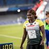 Diskuswerferin Claudine Vita verpasst mit 61,52 Metern knapp die Goldmedaille bei der Universiade 2019 in Neapel. 9. Juli 2019, © Arndt Falter