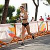 LOAngstrecklerin Deborah Schöneborn belegten einen starken vierten Platz beim Halbmarathon bei der der Universiade 2019 in Neapel. 13. Juli 2019, © Arndt Falter