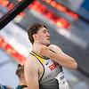 Bei der Universiade 2019 in Neapel belegen die Kugelstosser Christian Zimmermann und Simon Bayer die Plätze 7 und 9., 8. Juli 2019 © Arndt Falter