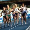 Bei der Universiade 2019 in Neapel läuft Caterina Granz über die 1500 Meter auf den ersten Platz und gewinnt so das erste undd einzige Gold für das deutsche Team. 13. Juli 2019, © Arndt Falter