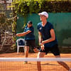 Das deutsche Doppel-Team der Tennis-Herren Christoph Negritu und Christian Seraphim haben in der Runde der letzten 32 ihr Spiel gegen Japan verloren.