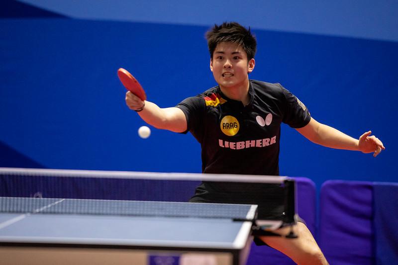 Tischtennis: Herren im Halbfinale