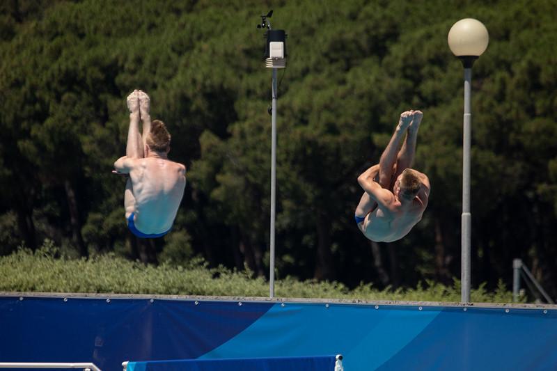 Wasserspringen: Seidel/Herzog 6. Platz im 3-m-Synchron