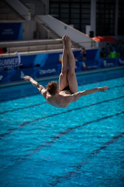 Wasserspringen: Seidel im Finale