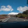 Mt Ruapehu, last erupted 2007, our hotel Chateau Tongariro