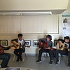 "City Hearts class ""World Music: Guitar & Songwriting"" performing at Whaley Middle Darkroom opening, May 2016"