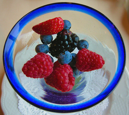 LIFE IS A BOWL OF BERRIES