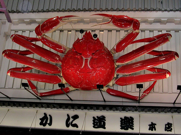 THE GIANT KING CRAB OSAKA, JAPAN