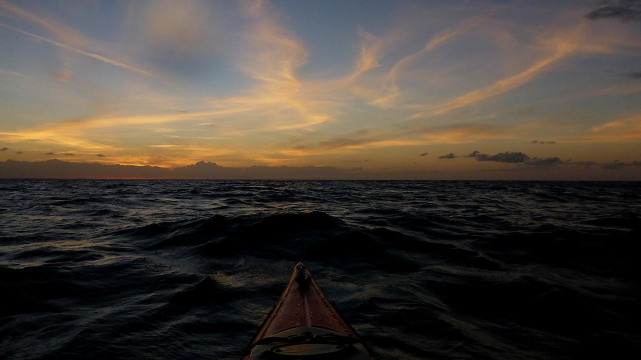 Why I like paddling on sundown