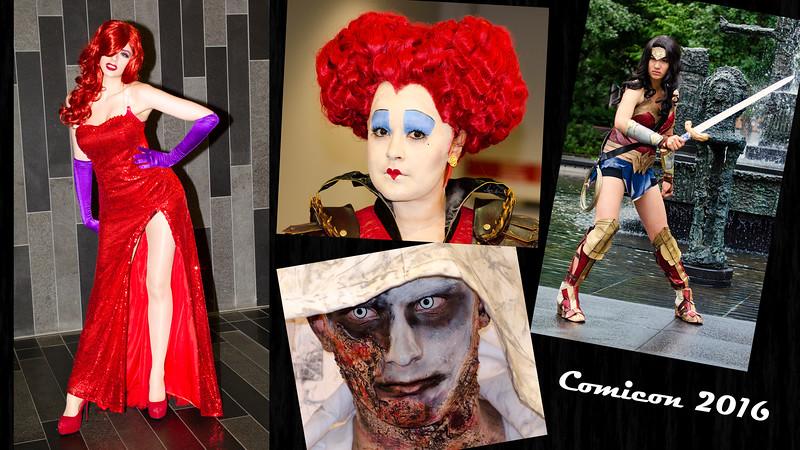 collage COMICCON