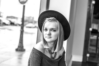 Emily Senior Session-37b&w