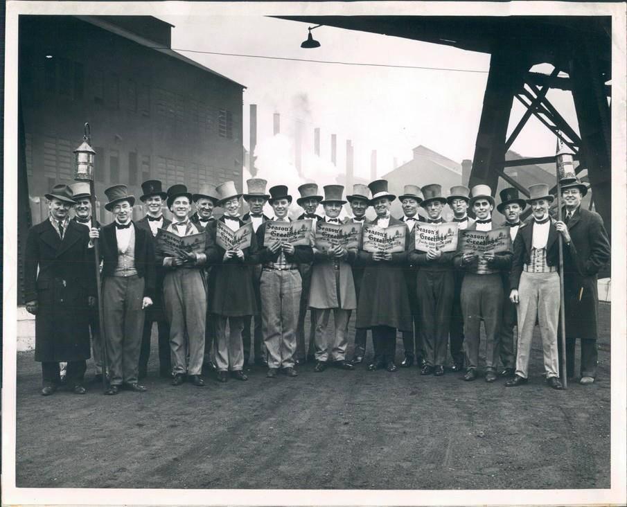 U.S. Steel Xmas Carolers