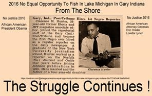 First African American Reporter For Gary Post Tribune