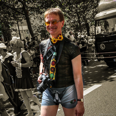 Photographer on Parade