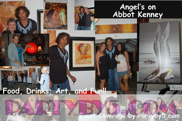 "First Friday's presents,,,,""Angel's on Abbot Kinney"""