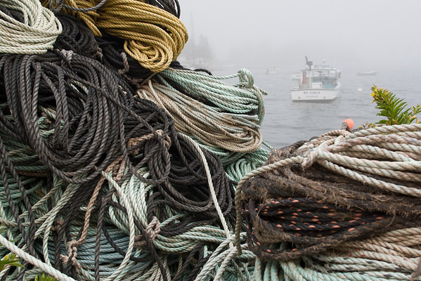 Lobstah Gear at the ready on Vinalhaven in Maine (2009)